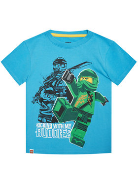 LEGO Wear LEGO Wear Marškinėliai 12010021 Mėlyna Regular Fit