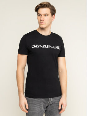Calvin Klein Jeans Calvin Klein Jeans Póló Core Institutional Logo J30J307855 Fekete Regular Fit