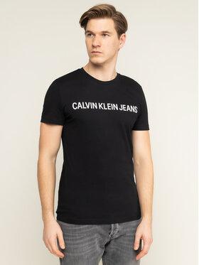 Calvin Klein Jeans Calvin Klein Jeans T-Shirt Core Institutional Logo J30J307855 Μαύρο Regular Fit