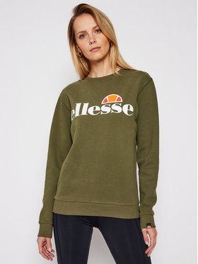 Ellesse Ellesse Суитшърт Agata SGS03238 Зелен Regular Fit