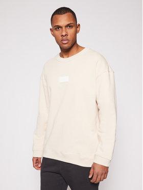 adidas adidas Džemperis Silicon Crew GN3290 Smėlio Regular Fit