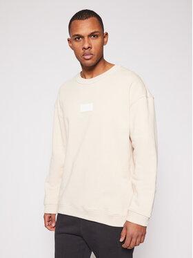 adidas adidas Sweatshirt Silicon Crew GN3290 Beige Regular Fit