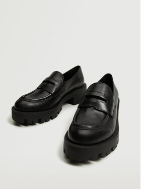 Mango Mango Pantofi Ron 17073774 Negru