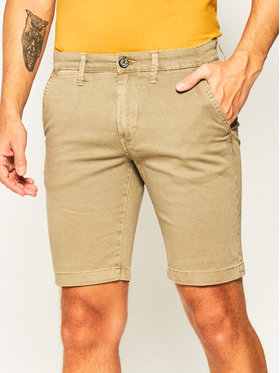 Pepe Jeans Pepe Jeans Stoffshorts Charly Minimal PM800773 Grün Slim Fit