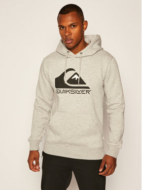 Quiksilver Quiksilver Mikina Square Me Up EQYFT04203 Šedá Regular Fit