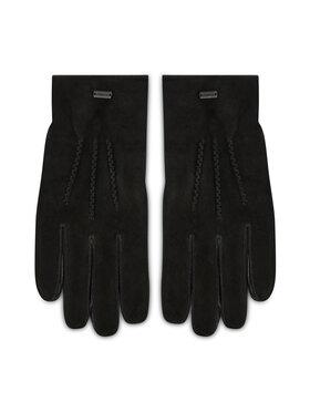 Strellson Strellson Pánske rukavice 3186 Čierna