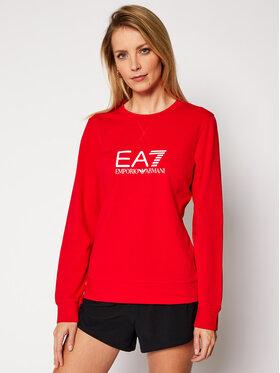 EA7 Emporio Armani EA7 Emporio Armani Bluza 8NTM39 TJ31Z 1451 Czerwony Regular Fit