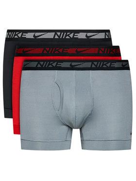Nike Nike Komplektas: 3 poros trumpikių 0000KE1029 Raudona