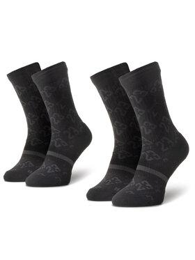 NIKE NIKE 2 pár hosszú szárú unisex zokni CU0037 010 Fekete
