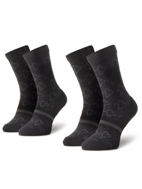 NIKE NIKE Súprava 2 párov vysokých ponožiek unisex CU0037 010 Čierna