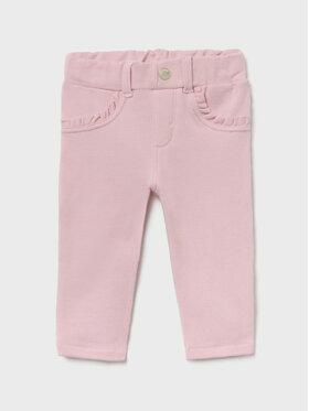 Mayoral Mayoral Spodnie materiałowe 560 Różowy Regular FIt
