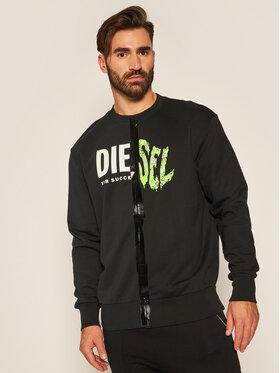 Diesel Diesel Sweatshirt A00305 0KASL Noir Regular Fit
