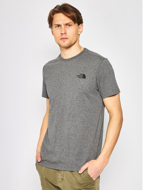 The North Face The North Face T-Shirt Simple Dome Tee NF0A2TX5JBV1 Γκρι Regular Fit