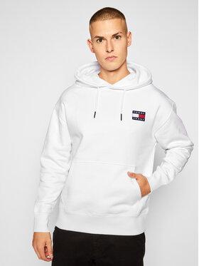 Tommy Jeans Tommy Jeans Sweatshirt Tjm Badge Hoddie DM0DM06593 Blanc Regular Fit
