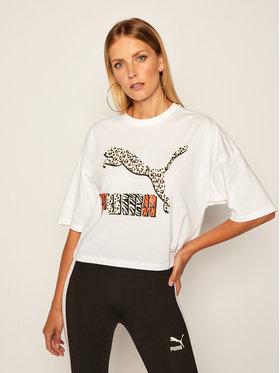 Puma Puma T-shirt Classics 597726 Bianco Loose Fit