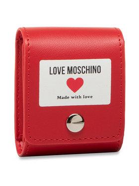 LOVE MOSCHINO LOVE MOSCHINO Custodia per auricolari JC6401PP1CLI0500 Rosso