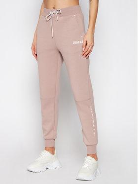 Guess Guess Teplákové nohavice Long O0BA26 KA3P1 Hnedá Regular Fit