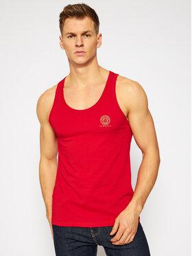 Versace Versace Tank top Medusa AUU01012 Czerwony Regular Fit