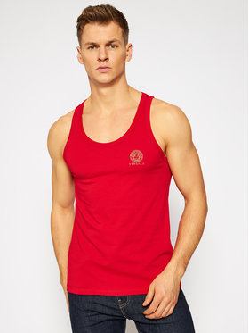 Versace Versace Tank-Top Medusa AUU01012 Rot Regular Fit