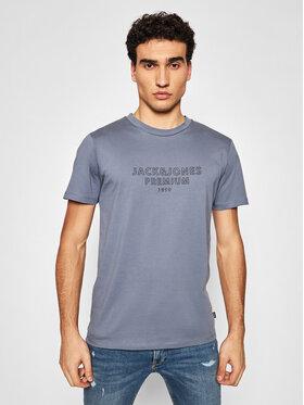 Jack&Jones PREMIUM Jack&Jones PREMIUM T-Shirt Blaedgar 12187986 Šedá Regular Fit