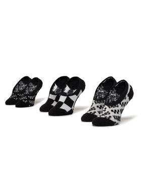 Vans Vans Σετ 3 ζευγάρια κάλτσες σοσόνια γυναικεία Brand Cano VN0A4DS94481 r. 37-41 Μαύρο