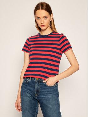 Polo Ralph Lauren Polo Ralph Lauren T-Shirt Ssl 211801465002 Kolorowy Regular Fit