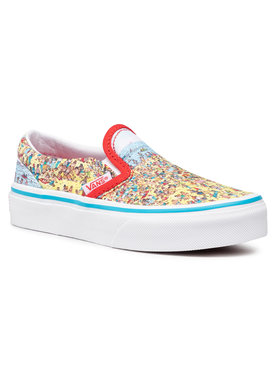 Vans Vans Гуменки Classic Slip-On VN0A4BUT3WO1 Цветен