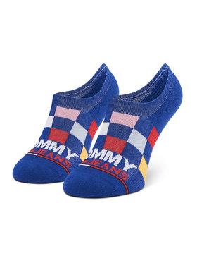 Tommy Jeans Tommy Jeans Skarpety Stopki Unisex 100002409 Niebieski