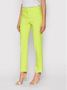 Rinascimento Rinascimento Чино панталони CFC0103166003 Жълт Slim Fit