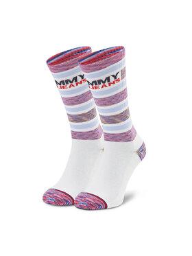 Tommy Jeans Tommy Jeans Șosete Medii Unisex 100002404 Alb