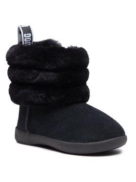 Ugg Ugg Pantofi T Mini Quilted Fluff 1110704T Negru