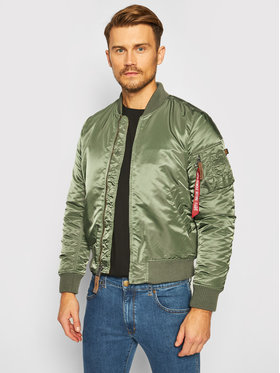Alpha Industries Alpha Industries Bomber dzseki Ma-1 Vt 59 191118 Zöld Regular Fit