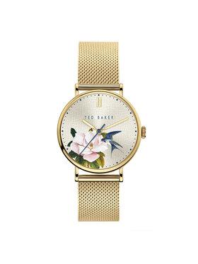 Ted Baker Ted Baker Uhr Phylipa Flowers BKPPFF903 Goldfarben