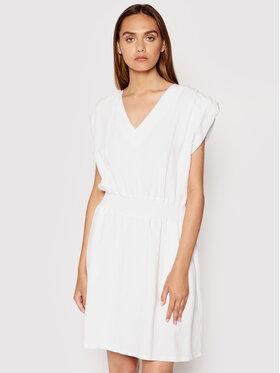 Rinascimento Rinascimento Sukienka letnia CFC0103488003 Biały Regular Fit