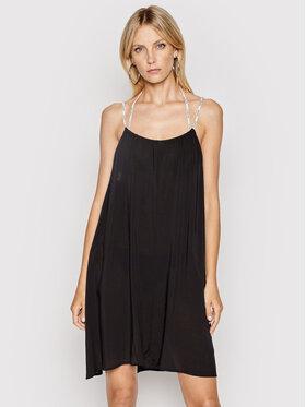 Calvin Klein Swimwear Calvin Klein Swimwear Плажна рокля KW0KW01365 Черен Relaxed Fit