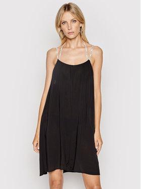 Calvin Klein Swimwear Calvin Klein Swimwear Пляжне плаття KW0KW01365 Чорний Relaxed Fit