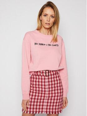 Pinko Pinko Bluza Algebra PE 21 PRR 1N1343 Y7ED Różowy Regular Fit