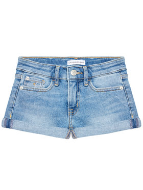 Calvin Klein Jeans Calvin Klein Jeans Džinsiniai šortai Essential IG0IG00863 Mėlyna Slim Fit