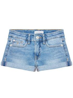 Calvin Klein Jeans Calvin Klein Jeans Pantaloni scurți de blugi Essential IG0IG00863 Albastru Slim Fit