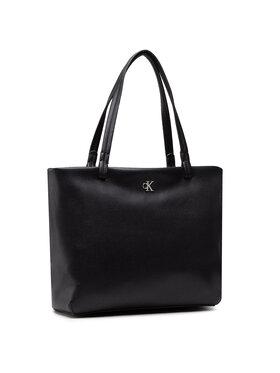 Calvin Klein Calvin Klein Táska Soft Shopper 29 K60K607478 Fekete