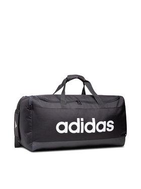 adidas adidas Сак Linear Duffel L GN2044 Черен