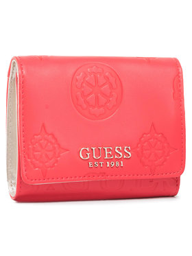 Guess Guess Portefeuille femme grand format Kaylyn Slg SWSG77 47430 Rouge