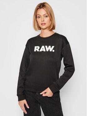 G-Star Raw G-Star Raw Bluza Premium Core D20759-C235-6484 Czarny Regular Fit