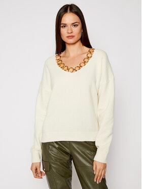 Pinko Pinko Sweater UNIQUENESS Leoncavallo PE21 UNQS 1Q1084 Y16Y Bézs Regular Fit