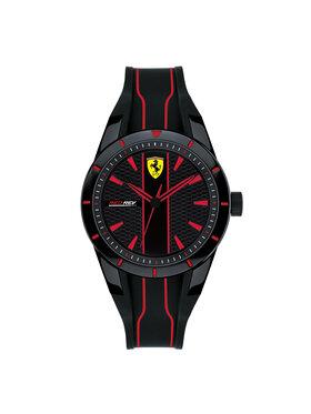 Scuderia Ferrari Scuderia Ferrari Часовник Red Rev 0830479 Черен