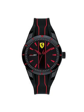 Scuderia Ferrari Scuderia Ferrari Laikrodis Red Rev 0830479 Juoda