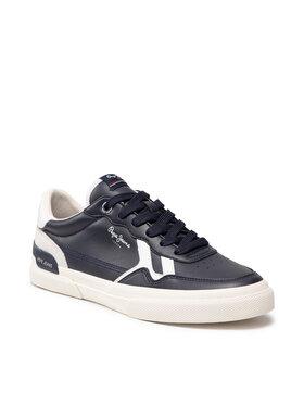 Pepe Jeans Pepe Jeans Sneakersy Kenton B.Retro PMS30792 Tmavomodrá