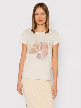 Outhorn Outhorn T-shirt TSD616 Beige Regular Fit
