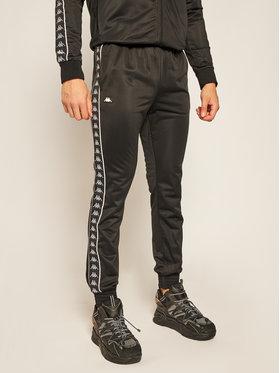 Kappa Kappa Teplákové kalhoty Helge 308020 Černá Regular Fit