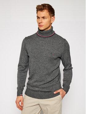 Tommy Hilfiger Tailored Tommy Hilfiger Tailored Pullover MERCEDES-BENZ Warm Roll Neck TT0TT08425 Grau Regular Fit